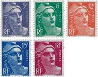Frankrig - YT 883-87 - Postfrisk