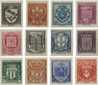 Frankrig 1941 - YT 526/537 - Ubrugt
