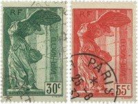 Frankrig 1937 - YT 354-55 - Stemplet