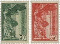 Frankrig 1937 - YT 354-55 - Ubrugt
