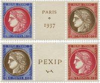 Frankrig 1937 - YT 348-51 - Postfrisk