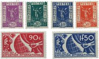 Frankrig 1936 - YT 322/327 - Ubrugt