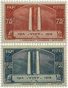 Frankrig - YT 316-17 - Postfrisk
