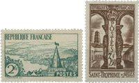 France 1935 - YT 301-02 - Neuf avec charnière
