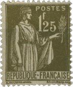 France 1932 - YT 287 - Neuf avec charnière