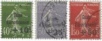 France 1931 - YT 275-77 - Oblitéré