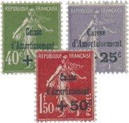 France 1931 - YT 275-77 - Neuf