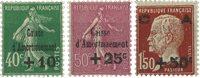 Frankrig - YT 253-55 - Postfrisk