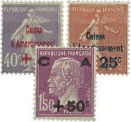 Frankrig - YT 249-51 - Postfrisk