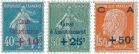 France 1927 - YT 246-48 - Neuf avec charnière