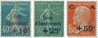 Frankrig - YT 246-48 - Postfrisk