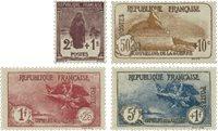 Frankrig 1926 - YT 229-32 - Ubrugt