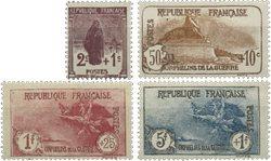 Frankrig - YT 229-32 - Postfrisk