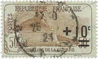 France 1922 - YT 167 - Oblitéré