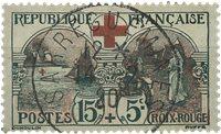 Frankrig 1918 - YT 156 - Stemplet