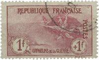 Frankrig 1917 - YT 154 - Stemplet