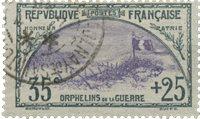 Frankrig 1917 - YT 152 - Stemplet