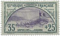 Frankrig 1917 - YT 152 - Ubrugt