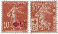 France 1914 - YT 146-147 - Neuf avec charnière