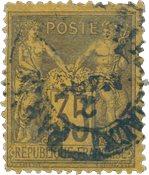 France 1876 - YT 93 - Oblitéré
