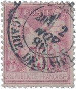 France 1876 - YT 81 - Oblitéré