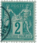 France 1876 - YT 74 - Oblitéré