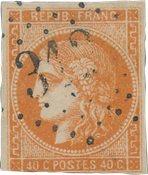 France 1870 - YT 48 - Cancelled
