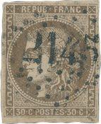 France 1870 - YT 47 - Oblitéré