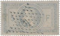 France 1863 - YT 33 - Oblitéré