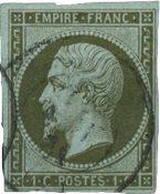 Frankrig 1860 - YT 11 - Stemplet