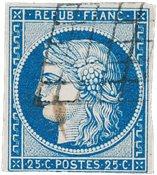 France 1849 - YT 4a - Oblitéré