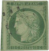Frankrig 1850 - YT 2 - Stemplet