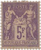 France - 1877 - YT 95, neuf avec charnière
