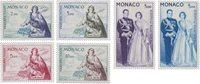 Monaco - 1960/1961 - YT PA 73/78, neuf