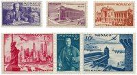 Monaco 1947 - YT PA22/27 - Neuf