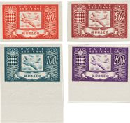 Monaco 1946 - YT PA 15-18 - Neuf