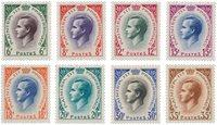 Monaco - 1955/1957 - YT 421/426A, neuf