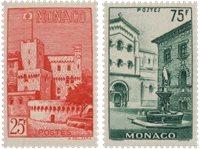Monaco - 1954 - YT 397/398, neuf