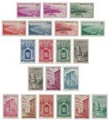 Monaco - 1939/1941 - YT 169/183, neuf