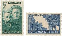 Monaco 1938 - YT 167-68 - Postfrisk