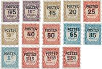Monaco - 1937 - YT 140/153, neuf