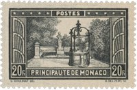 Monaco - 1933/1937 - Yvert 134, neuf avec charnière