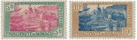 Monaco 1924/1933 - YT 102/103, neuf