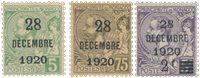 Monaco - 1921 - YT 48/50, neuf