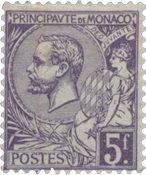 Monaco - 1920/1921 - YT 46, neuf avec charnière