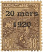 Monaco - YT 41 - Neuf avec charnières