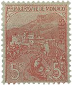 Monaco - YT 33 - Neuf avec charnières