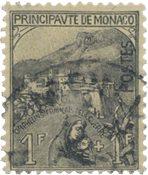 Monaco - 1919 - YT 32 - Oblitéré