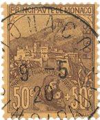Monaco 1919 - YT 31 - Stemplet