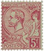 Monaco - 1891-1894 - YT 21, neuf